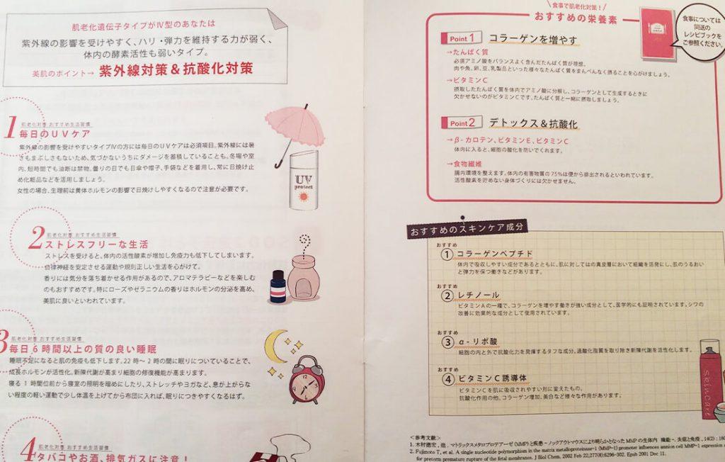 タイプⅣおすすめの栄養素とスキンケア成分