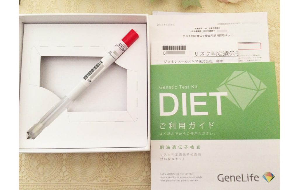肥満遺伝子検査キット内容
