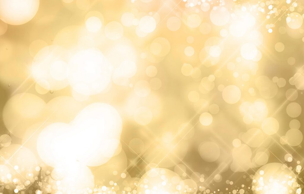 キラキラ輝くゴールド