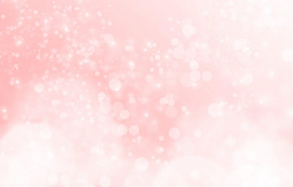キラキラ輝くピンク
