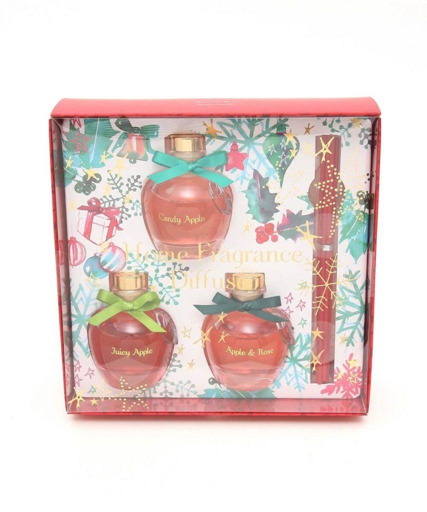 Afternoon Tea(アフタヌーンティー) クリスマスりんご型ディフューザーセット ¥2,484(税込)