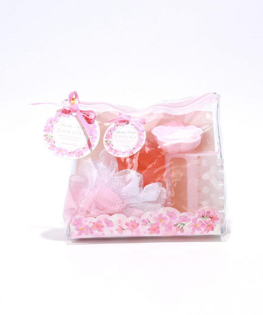 桜ポーチセット